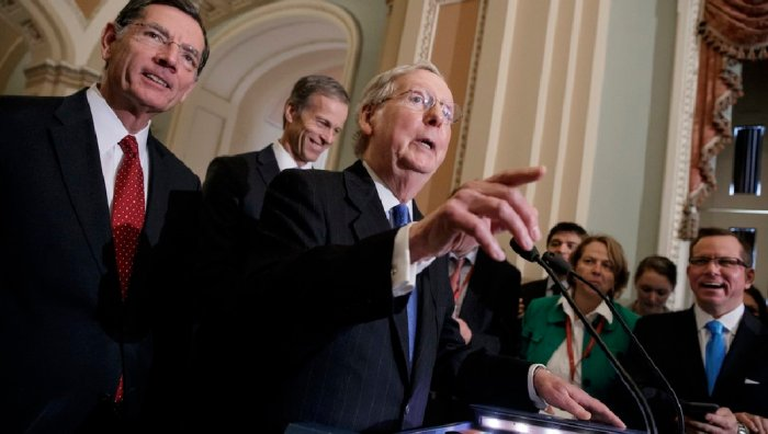J Scott Applewhite AP McConnell and Repubs Healthcare