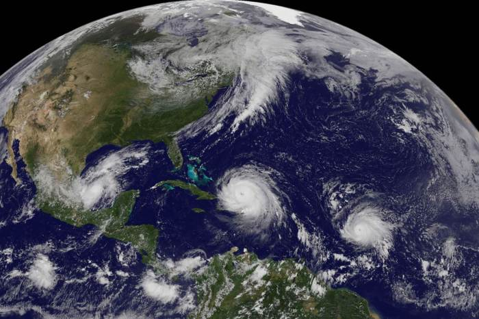 Irma and Jose NOAA