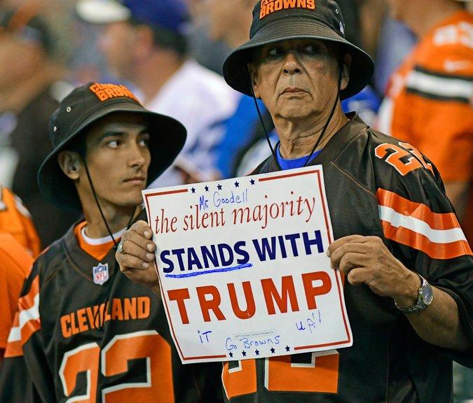 NFL pro trump Thomas J Russo via Reuters