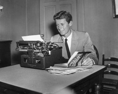 JFK typing