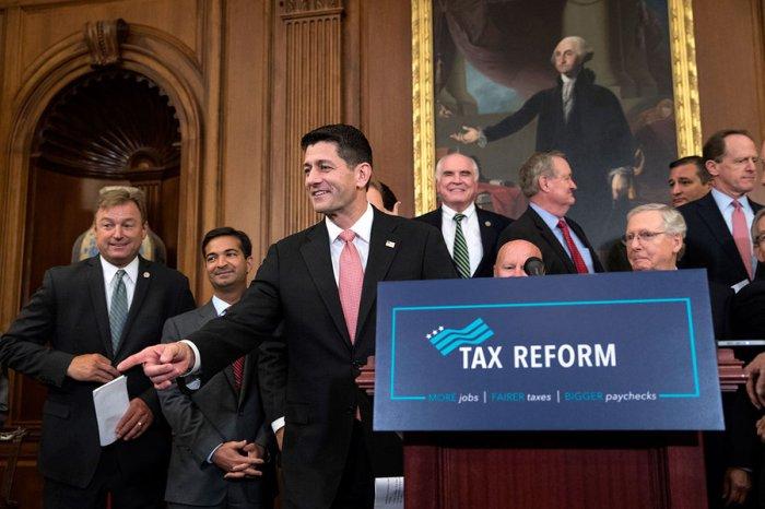 J Scott Applewhite AP Tax Reform